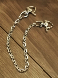 Four-Sided Cut Wallet Chain