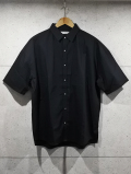 Over Work Shirts-BLACK-