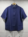 Over Work Shirts-D,INDIGO-