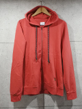 Pigment Parka-FADE RED-