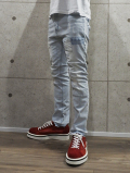Anklecut Clash Denim-ICE WASH-