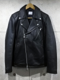 Leather W-rider's Jacket