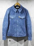 Suede 3rd G-Jacket-BLUE-