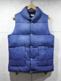 Denim Padded Vest-D.INDIGO-