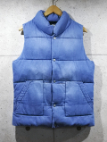 Denim Padded Vest-L.INDIGO-