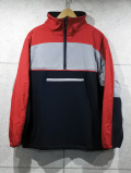 H/Z Fleece Jacket-RED-
