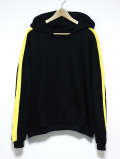 【先行予約2月入荷商品】Side Line Parka-BLACKxYELLOW-