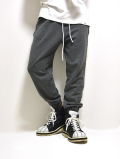 【先行予約4月入荷商品】Cutoff Line Sweat Pants-GRAY-