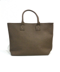 Intorechato Tote Bag/イントレチャートトートバッグ-BROWN-