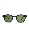 Round Wellington Flame Toy Sunglasses/ラウンドウェリントンフレームトイサングラス/BLACKxVINTAGE GREEN