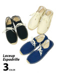 Lace up Espadrille/レースアップエスパドリーユ