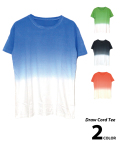 Shaved Ice Dyed Tee/かき氷染めティー
