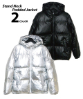 Stand Neck Padded Jacket/スタンドネックパデッドジャケット