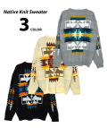 Native Knit Sweater/ネイティブニットセーター