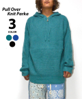 Pull Over Knit Parka