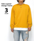 【5月下旬入荷予定商品】Fake Layered Grange Trainer