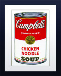 【Andy Warhol】Campbell's Soup(Chiken Noodle)/アンディ・ウォーホル アートフレーム