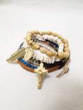 【メール便可】Multiple Handcrafted Ocean Bracelet