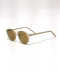 Clear Flame Toy Sunglasses-SMOKE BROWN-