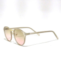 Clear Flame Toy Sunglasses-PINK GRADATION-