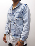 2nd Denim G-Jacket-FADE BLUE-