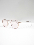 Octagon Frame Toy Sunglasses-PINK-