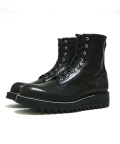 "【先行予約3月入荷商品】Lace Up Logger Boots""MASTER PIECE""#7124(Shark Sole)/BLACK"