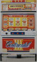 ユニバーサル コンチネンタル3 赤(中古スロット台、スロット実機)
