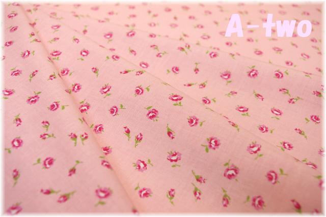 LECIEN 30's 8 ミニローズ ピンク 31526-20 (約110cm幅×50cm)