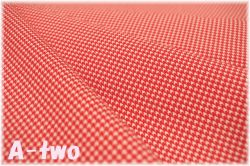 LECIEN Retro 30's Child Smile 千鳥格子 レッド 31870-30 (約110cm幅×50cm)