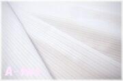 KEI FABRIC 薄手 ストライプ 生成り×ブルー 2051-B-2 (約110cm幅×50cm)