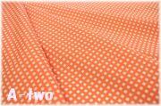 Happy Sweet Collection チェック オレンジ HS1287-3 (約110cm幅×50cm)