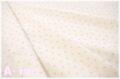Robert Kaufman DARLENE'S FAVORITES Dot Cluster CAMELLIA 18754-122 (約110cm幅×50cm)