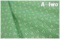 Robert Kaufman DARLENE'S FAVORITES Flower Dots ALOE 20075-36 (約110cm幅×50cm)