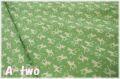 moda DEER CHRISTMAS Deer 小 グリーン 31164-14 (約110cm幅×50cm)