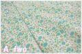 【少々難あり50%OFF】 YUWA ローン ポップ 生成り×ブルー 312625-E (約110cm幅×50cm) 【ポイント還元対象外】