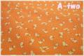 LECIEN Retro 30's ラビット オレンジ 31280-40 (約110cm幅×50cm)