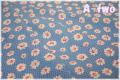 LECIEN Retro 30's デイジー ブルー 31281-70 (約110cm幅×50cm)
