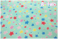 LECIEN Floral Collection FLOWER SUGAR スター ブルー 31330-70 (約110cm幅×50cm)