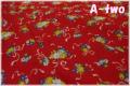 LECIEN 30's 7 ブーケ レッド 31372-30 (約110cm幅×50cm)