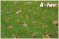 LECIEN 30's 7 ブーケ グリーン 31372-60 (約110cm幅×50cm)