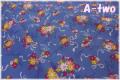 LECIEN 30's 7 ブーケ ブルー 31372-70 (約110cm幅×50cm)