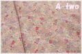 【少々難あり50%OFF】 YUWA ローン フラワーガーデン ピンク・パープル 314651-C (約110cm幅×50cm) 【ポイント還元対象外】
