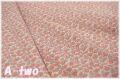 【少々難あり50%OFF】 YUWA ローン プチフラワー ピンク・パープル 314657-A (約110cm幅×50cm) 【ポイント還元対象外】