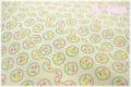 LECIEN 30's 8 スカラップチェリー 生成り×グリーン 31525-60 (約110cm幅×50cm)