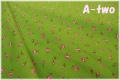 LECIEN 30's 8 ミニローズ グリーン 31526-60 (約110cm幅×50cm)