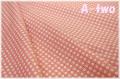 LECIEN Retro 30's ミニミニハート ピンク 31554-20 (約110cm幅×50cm)