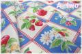 LECIEN Orchard Kitchen フルーツブロック ブルー 31736-70 (約110cm幅×50cm)