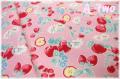 LECIEN Orchard Kitchen フルーツ ピンク 31737-20 (約110cm幅×50cm)
