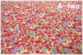 LECIEN Orchard Kitchen フルーツミニ レッド 31738-30 (約110cm幅×50cm)